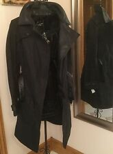 Sold Out Barbour International Shadow Trench By Francis Leon Size 6