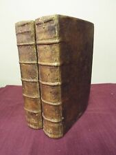 1657 Bible KJV - First / Only English Official Dutch Bible - 2 Volumes