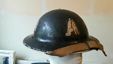 Original Genuine WW2 British Steel Ambulance Helmet Home Front London Blitz 1940