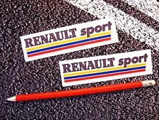 RENAULT Sport Stickers F1 Grand Prix Clio Laguna Megane RS 5 Turbo World Series