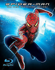 Spider-Man Complete Trilogy Blu-Ray Box Set 1 2 3 Tobey Maguire Movie Collection