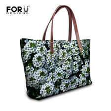 Ladies Womens Floral Designer Shoulder Bag Summer Hand Tote Shopping Handbag