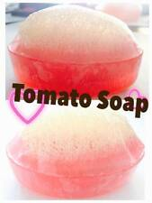 TOMATO SOAP LUFFAH SPA  Herbal Transparent Base Glycerin For Smooth Skin /1BAR