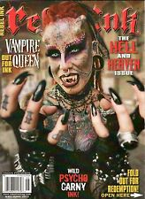 REBEL INK MAGAZINE MAY JUNE 2012 THE HELL AND HEAVEN ISSUE VAMPIRE QUEEN