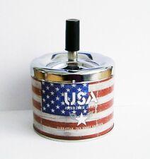 ASCHENBECHER USA Fahne Flagge Drehaschenbecher Windaschenbecher Ascher 48
