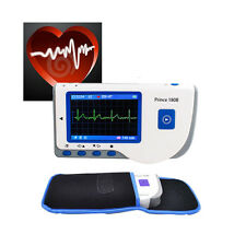 FORCE PC-80B Handheld Color ECG EKG Portable Heart Monitor+Pouch + software CD