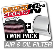 K&N Air & Chrome Oil Filter KAWASAKI VN900 Vulcan Classic LT 903 2006-2013