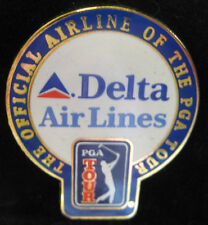 PGA Sponsor Pin - Delta Air Lines - Official Air Line Of The PGA Tour