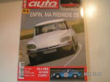 **a Auto Passion n°6 Peugeot 204 Cabriolet 1967 / Simca Marly 1959