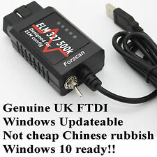 Ford USB Super OBD2 Interface Scanner Fault Code Diagnostic Tool Focus Mondeo