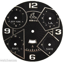JACOB & CO BLACK DIAL FOR 47mm JACOB & CO WATCHES