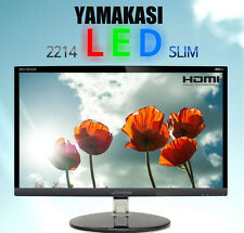 "YAMAKASI - NEW 22"" 2214 LED SLIM Full Slim Bezel HD 1920 x 1080 60Hz FHD Monitor"