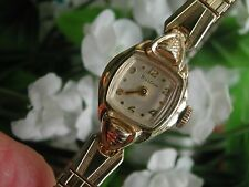 Ladies Art Deco Bulova Watch ~  Runs