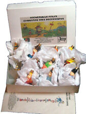 "Toonerville Folks  ""Milk Glass"" Christmas Lights - Save On Whole Set!"