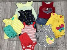 Infant Baby Girl Clothes Size 6-9 Months Spring Summer Mixed Lot Set