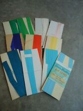 Remnants of Seam Binding Several Colors & Lengths