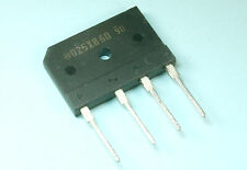4pcs Shindengen Silicon Bridge Rectifier Diode D25XB60, 25A 600v