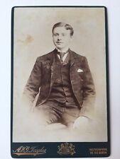 Large Victorian Carte De Visite CDV Cabinet Photo  - A & J Taylor