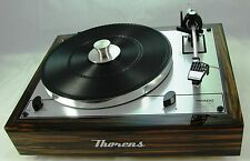 Thorens TD 165 Special Turntable exclusive  + gratis Stabilizer Record Clamp