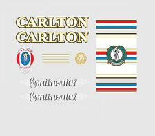 Carlton Continental Bicycle Decals, Transfers, Stickers n.5