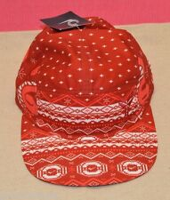 Nike Kobe IX 9 Christmas 2014 5 Panel Cap Hat 708216-687 Red White Adult New $35