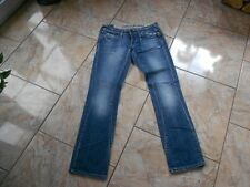 H7864 G-star Core slim sheld EMBRO wmn Jeans w28 l30 bleue unicolore bien