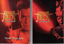 STAR WARS YOUNG JEDI MENACE OF DARTH MAUL RULES SUPPLEMENT