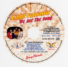 Light Fantastic, We Are The Song CD  Cat No: RTL7510
