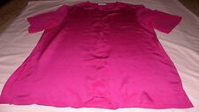 NEXT PURE SILK  PINK TOP SIZE L