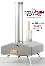 Uuni 2S Wood Fired Pizza Oven BUNDLE inc peel, cover, 10kg pellets FREE DELIVERY