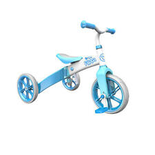 New Yvolution Y Velo Flippa Tricycle and Balance Bike- Blue Model:18252129
