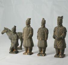 15cm Terracotta Warrior Presentation Statue Set - Christmas Gift Stocking Filler