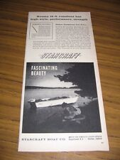 1960 Print Ad Starcraft Viscount 16' Aluminum Boats Goshen,IN