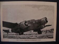 Aviazione Regia Aereonautica aereo Cant Z 1007 Alcione bombing plane II guerra