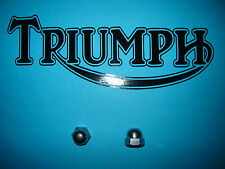 Triumph T140 E V Bonneville TR7 Stainless SS Rocker Oil Feed Domed Nuts 21-0550