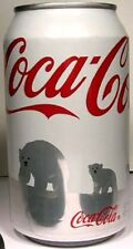 MT UNOPEN 12oz Can American Coke Coca-Cola Save Polar Bear White Issue 2011 USA