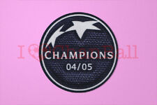 UEFA Champions League Winner 2004-2005 Liverpool Sleeve Soccer Patch / Badge