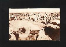 Real Photo Postcard AZO 1904-20 Mexico Revolution ? Mass Grave 1917 ? US War Z87