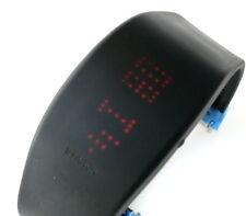PH1116 - Philippe Starck Uhr mit Laufschrift  - Neu und ungetragen