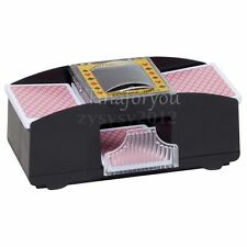Shuffle casino 2 Decks Playing Cards Battery Automatic Card Shuffler Sorter