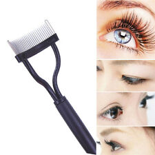 New Eyebrow Eyelash Comb  Brush Metal Comb Cosmetic Makeup Tool