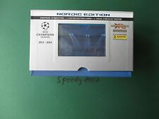 Panini Champions League 2013 2014 giftbox Limited Edition 40 base Nordic Edition