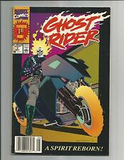 GHOST RIDER 2nd SERIES VF- WHITE PAGES COPPER AGE MARVEL COMIC 1990