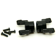 1 Pair Axial Wraith Aluminum Front C-Hub Black for 1:10 RC Crawler Car Off Road