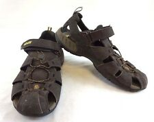 Teva Men's Dark Brown Outdoor Walking/Hiking Elastic Sport Sandals 11 [SH512]