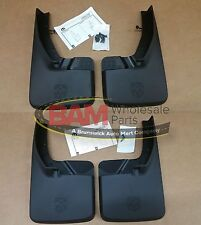 2009-2017 RAM 1500 2500 3500 Front & Rear Splash Guards Mud Flaps OEM