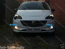 VAUXHALL CORSA E LED FOG LIGHT LED BULBS CANBUS ERROR FREE H10 XENON WHITE