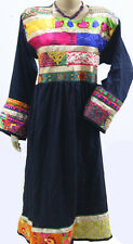 Kuchi Afghan Dress Top Costume Nomad Banjara Thread Work Tribal Hippie Style