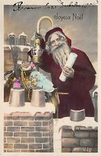 B86310  santa with toys france santa claus father christmas papa noel