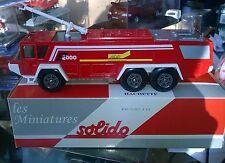 SOLIDO HACHETTE SIDES 2000 MARK3 POMPIERS DE PARIS  Neuf + Boite SOLIDO
